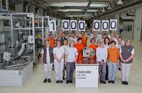 Skoda Auto Deutschland GmbH: SKODA Werk Vrchlabi produziert einmillionstes DQ 200-Getriebe