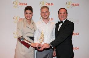 HSE24: HSE24 feiert glamouröse Jubiläumsgala mit Staraufgebot - Nachwuchsdesigner Lars Harre gewinnt HSE24 Talent Award