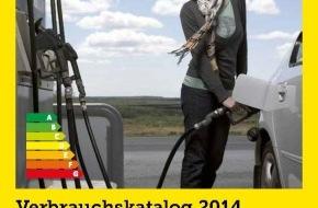 Touring Club Schweiz/Suisse/Svizzero - TCS: Catalogue de la consommation 2014: consommation normalisée entre 1.3 et 16.9 litres sur 100 kilomètres