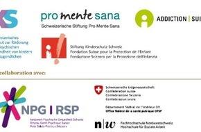 Sucht Schweiz / Addiction Suisse / Dipendenze Svizzera: Congrès national, jeudi 23 avril 2015 au Palais des Congrès à Bienne Enfants de parents souffrant de maladie psychique - Qui se soucie d'eux?