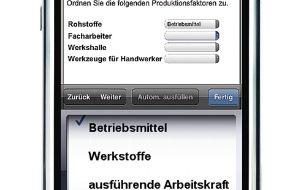 Studiengemeinschaft Darmstadt SGD: Studiengemeinschaft Darmstadt (SGD) startet erste Lern-Apps / Mobiler Online-Campus waveLearn hilft, im Fernstudium den eigenen Wissensstand per Smartphone zu überprüfen (mit Bild)