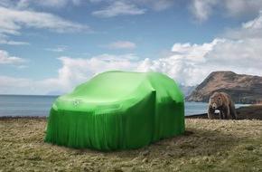 Skoda Auto Deutschland GmbH: Bären-stark: Das große SUV von SKODA heißt Kodiaq