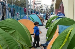 Help - Hilfe zur Selbsthilfe e.V.: Interviewpartner Flüchtlingshilfe - live aus Griechenland