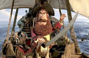 """SAT.1: Nie genug Knete für Aardmans """"Piraten!"""" am 6. September 2014 in SAT.1"""