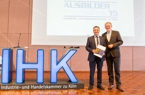 Unternehmensgruppe ALDI SÜD: Publikumspreis der IHK Köln geht an ALDI SÜD Filialleiter