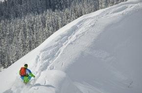 Tourismusbüro Kühtai: The Jump - Channel 4 Wintersportwettbewerb mit zwei Liveshows im Kühtai auf 2.020 Metern Seehöhe