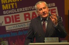 Hanns-Seidel-Stiftung: Schülerzeitungspreis DIE RAUTE verliehen / Hanns-Seidel-Stiftung zeichnet fünfzehn bayerische Schulen aus