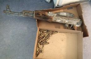 Polizeiinspektion Göttingen: POL-GÖ: (200/2016) Kinder finden verrostetes Sturmgewehr im Wald