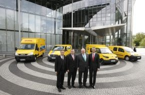 Deutsche Post DHL: Deutsche Post DHL macht Bonn zur Musterstadt für CO2-freie Zustellfahrzeuge