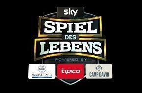 """Sky Deutschland: Sky Media Network gewinnt drei starke Partner für das """"Sky Spiel des Lebens"""""""