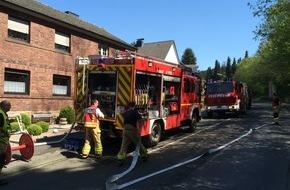 Feuerwehr Stolberg: FW-Stolberg: Feuerwehr auch am Muttertag stark gefordert
