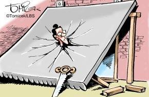 Bundesgeschäftsstelle Landesbausparkassen (LBS): Ein Dach ohne Zustimmung / Eigentümer in einer Wohnanlage war mit seinem Bau zu forsch gewesen