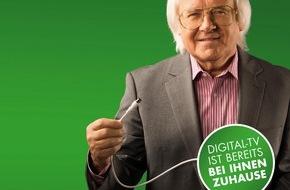 SUISSEDIGITAL: Umstieg auf digitales Fernsehen: Informationskampagne von Pro Senectute Schweiz und Swisscable