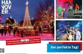 Hannover Marketing und Tourismus GmbH: Ein perfekter Tag in Hannover