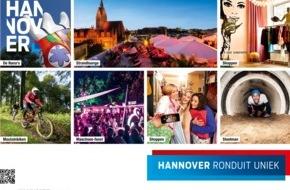 Hannover Marketing und Tourismus GmbH: Hannover (HMTG) startet Werbeoffensive für junge Menschen in den Niederlanden