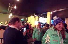 Erneut glänzten die TirolBerge in Hochfilzen und in St. Moritz im Medaillenschimmer der Athleten - VIDEO