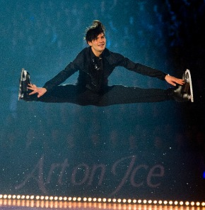 Mick Hucknall de Simply Red - Une superstar pour Art on Ice