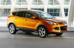 Ford-Werke GmbH: Ford Kuga: ab sofort neue Motoren mit mehr Leistung und weniger CO2