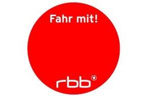 """Rundfunk Berlin-Brandenburg (rbb): Mit rotem Punkt gemeinsam durch den Streik: rbb lädt ein zur Aktion """"Fahr mit"""""""