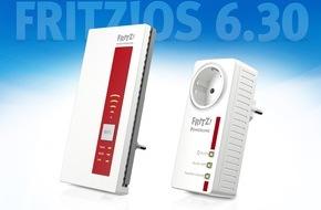 AVM GmbH: Update für FRITZ!WLAN Repeater und FRITZ!Powerline - das ganze Team des FRITZ-Heimnetzes powered by FRITZ!OS