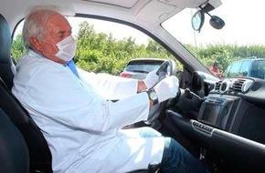 AUTO BILD: AUTO BILD: Krankheitserreger in Carsharing-Autos