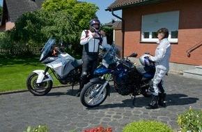 Deutscher Verkehrssicherheitsrat e.V.: Gut gerüstet für das Bike-Vergnügen / Sicherer Start in die Motorradsaison