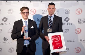 artegic AG: artegic Real Time Marketing Automation mit ECO Internet Award 2015 ausgezeichnet
