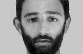 Polizei Düsseldorf: POL-D: Wer kennt den Mann? - Polizei fahndet mit Phantombild nach Sexualtäter - Datei im Anhang