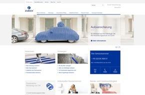 Zurich Gruppe Deutschland: Zurich Versicherung präsentiert sich mit neuem Internetauftritt
