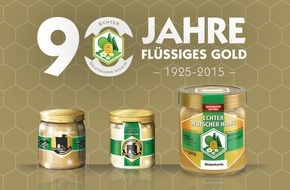 Deutscher Imkerbund e. V.: 90 Jahre Flüssiges Gold / Jubiläum des Imker-Honigglases steht bei Messepräsentation im Mittelpunkt