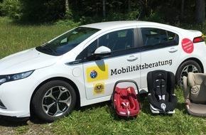 Touring Club Schweiz/Suisse/Svizzero - TCS: Kindersitzeinbau: Oftmals nicht genug Platz in der zweiten Sitzreihe