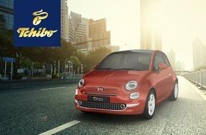 """Tchibo GmbH: Fiat 500 """"Pop Star"""" in der Tchibo Auktion: Jetzt italienische Legende zum Wunschpreis leasen"""