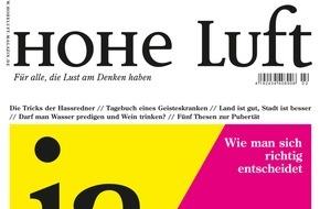 """Hohe Luft Magazin: Thees Uhlmann: """"Ich bin ein spießiger Ex-Konfirmand"""""""