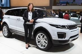 JAGUAR Land Rover Schweiz AG: A Genève, Nicola Spirig, médaillée d'or en triathlon aux JO 2012, sera l'hôte de Land Rover