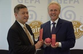 GEPA mbH: GEPA: Als Pionier in die nächsten 40 Jahre / Umsatzsteigerung um 3 Prozent auf rund 69 Millionen Euro / Fair Trade-Kerzen: kleines Jobwunder auf Java