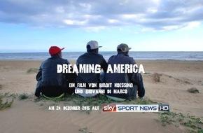 """Sky Deutschland: Ein Film über die verbindende Kraft des Fußballs: """"Dreaming America"""" am 24. Dezember auf Sky Sport News HD"""