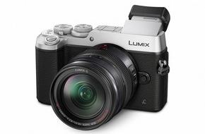Panasonic Deutschland: LUMIX GX8: DSLM-Kamera der neuen Generation mit 20 MP, Dual-Bildstabilisator und 4K-Foto/Video
