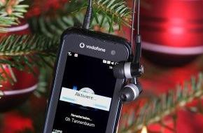 Vodafone GmbH: Das Qbowl von Samsung exklusiv bei Vodafone: das elegante Internet- und E-Mail Handy für Weihnachten