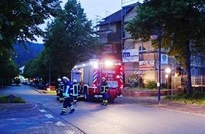 Feuerwehr Plettenberg: FW-PL: OT-Stadtmitte. Pizza im Ofen löst Feuerwehreinsatz aus.