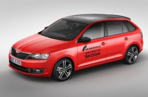 Skoda Auto Deutschland GmbH: SKODA bewegt das MS Dockville Festival