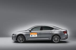 Skoda Auto Deutschland GmbH: SKODA macht Medienpreisverleihung der Kindernothilfe mobil