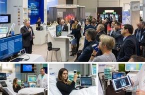 ClinicAll: Live-Premiere auf der MEDICA: ClinicAll zeigt als einer der ersten Echtzeit-Zugriff auf die digitale Patientenakte am Krankenbett