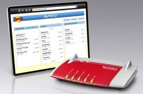 AVM GmbH: MyFRITZ! und FRITZ!NAS - die sichere und private Cloud von AVM