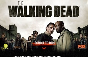 "Fox International Channels: Free- und Pay-TV Hand in Hand: RTL II und Fox starten Marketingkampagne zu ""The Walking Dead"""