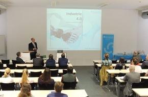 Hochschule Fresenius für Wirtschaft und Medien GmbH: Öffentliche Antrittsvorlesung: Industrie 4.0 - Wunsch und Wirklichkeit