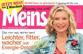 """Bauer Media Group, Meins: Jutta Speidel (62) in Meins: """"Ich liebe es, frei zu sein"""""""