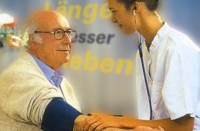 BKK24: Erste Hilfe gegen zu hohen Blutdruck / Krankenkasse BKK24 bietet zusammen mit Hausärzten ein 12-Wochen-Training am PC