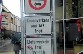 Polizeipräsidium Westpfalz: POL-PPWP: Kaiserslautern: Das Durchfahrtsverbot wird weiter missachtet