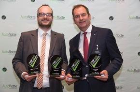 """Ford-Werke GmbH: Ford gewinnt vier Trophäen beim """"TopPerformer 2015""""-Award des Fachmagazins """"Autoflotte"""""""