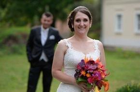 """SAT.1: """"So nervös war ich noch nie!"""" Braut Jasmin aus Mannheim fiebert bei """"Hochzeit auf den ersten Blick"""" ihrem Blind-Date am Standesamt entgegen - am 22. November um 17:45 Uhr in SAT.1"""
